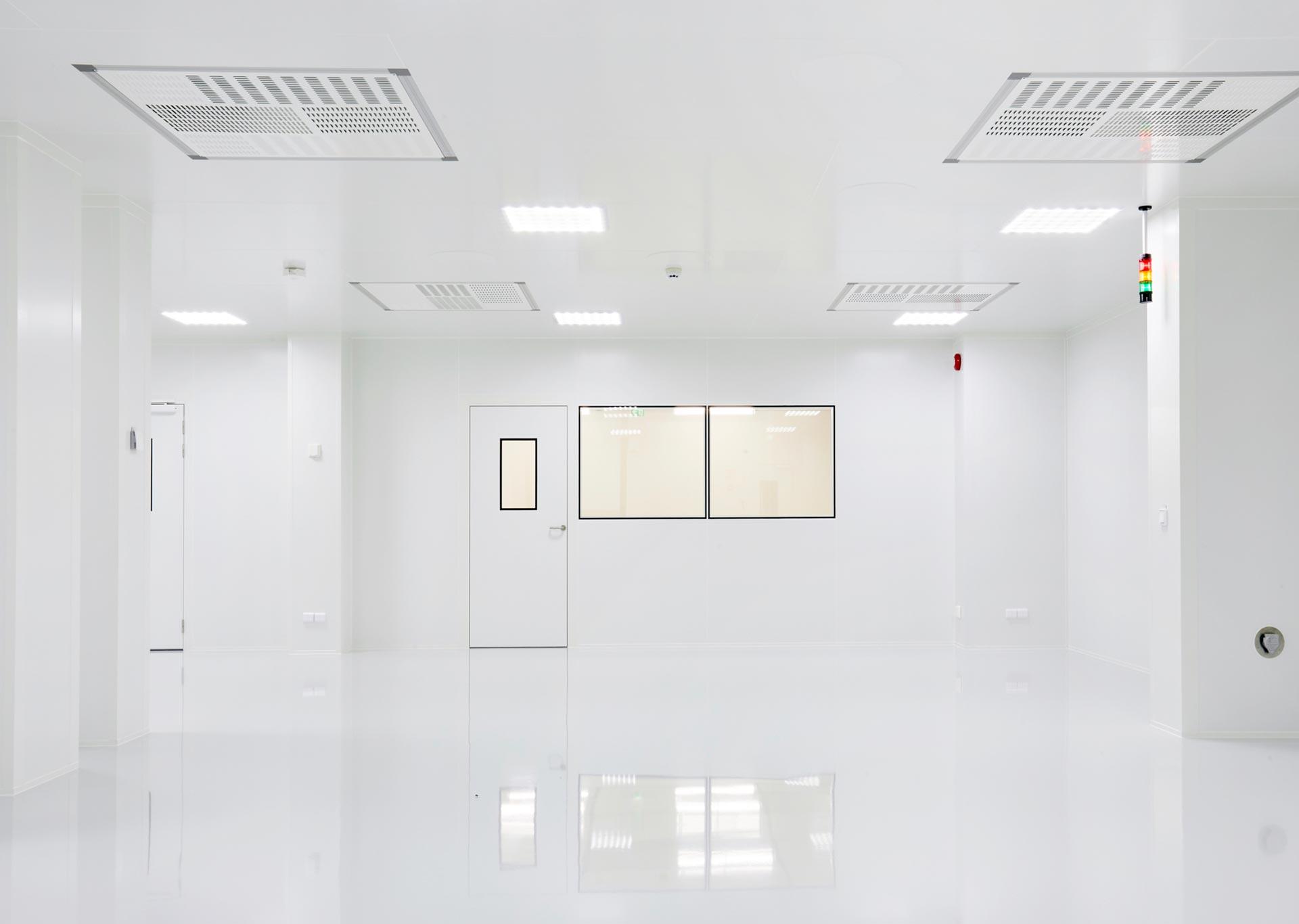 Salles blanches iso 5 pour Beneq en Finlande